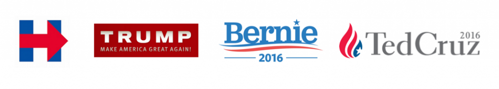 US-Election-Candidate Logos